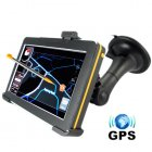 This feature rich multimedia GPS system comes in a stylish retro design with cool orange trim  and black colored front and back  GPS Navigation at a