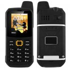 Rugged Outdoor Walkie-Talkie Phone (Black)