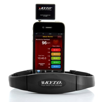 Android & iPhone Heart Rate Monitor - Kyto