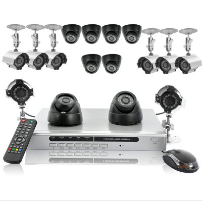 16 Camera + DVR Set with 1TB HDD - Hexa Set
