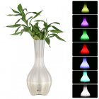 This multifunctional cool electronic gadget is a vase  Bluetooth speaker  and LED light in one  Features motion detection and Bluetooth 4 0
