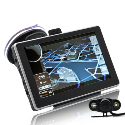 5 Inch Car GPS Navigator with Camera
