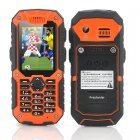 This rugged phone features an amazing 7 channel walkie talkie function that cover up to a 1000 meter distance