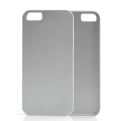 Metal iPhone 5 Case Silver
