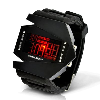 Boy's LED Watch - Black Arrow