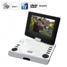 This ultra portable multimedia  7 inch DVD player  comes with everything you need to stay entertained during those long road trips or cross country flights