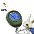 This GPS receiver   location finder  a k a  PG03 mini GPS   displays geographic coordinates  velocity   altitude and can record distance   mileage traveled