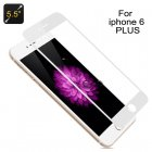 Tempered Glass for iPhone 6 Plus with White F