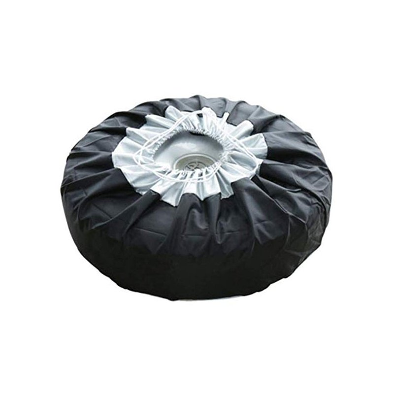 Tire Cover Case Car Spare Tire Cover Storage Bags Carry Tote Polyester Tire Protection Covers L: 80*47cm