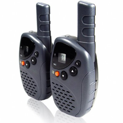 Fixed Antenna 20 Channel Walkie Talkie - Belt Clip + LED Torch