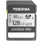 Toshiba Exceria Pro SD card N401 Memory Card UHS I U3 128GB Class10 4K UltraHD Flash Memory Card SDHC