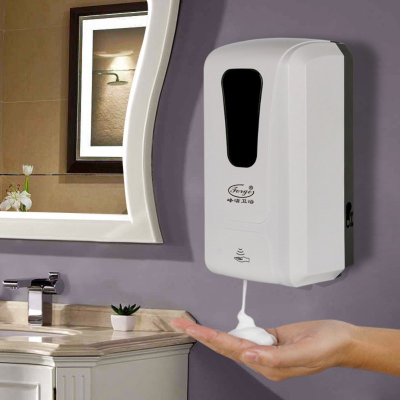 Touch-Free Hand Sanitizer Dispenser Wall Mounted Automatic Soap Dispenser Infrared Induction Induction foam machine