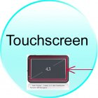 Touchscreen for CVMF CS29 Land Cruiser   Luxury 4 3 Inch Touchscreen