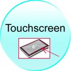 Touchscreen for CVMF TR04 6 Inch HD Touchscreen Handheld GPS Navigator