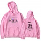 Travis Scotts ASTROWORLD Long Sleeve Printing Hoodie Casual Loose Tops Hooded Sweater A pink S