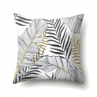 Tropical Plants Leaves Pillowcase Banana Leaf Palm Leaf Cushion Cover Home Decor CCA407(7)