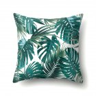 Tropical Plants Leaves Pillowcase Banana Leaf Palm Leaf Cushion Cover Home Decor CCA407(6)