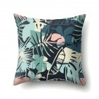 Tropical Plants Leaves Pillowcase Banana Leaf Palm Leaf Cushion Cover Home Decor CCA407(9)
