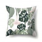 Tropical Plants Leaves Pillowcase Banana Leaf Palm Leaf Cushion Cover Home Decor CCA407(15)