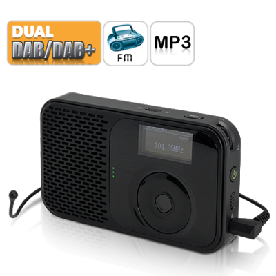 Digital Radio with Audio Recording
