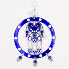 Turkish Blue Red Eye Hanging Pendant Lucky Charm Wall Blessing Protection Art Home Decor blue