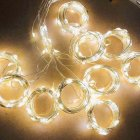 Twinkle Star 300 LED Window Curtain String Light Wedding Party Home Wall Decorations, Warm White Warm White