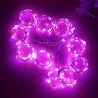 Twinkle Star 300 LED Window Curtain String Light Wedding Party Home Wall Decorations  Warm White Pink