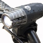 Two USB Rechargeable Bike Light  Super Bright Front Light and LED Bike Tail Light set  Splash proof and Easy to Install