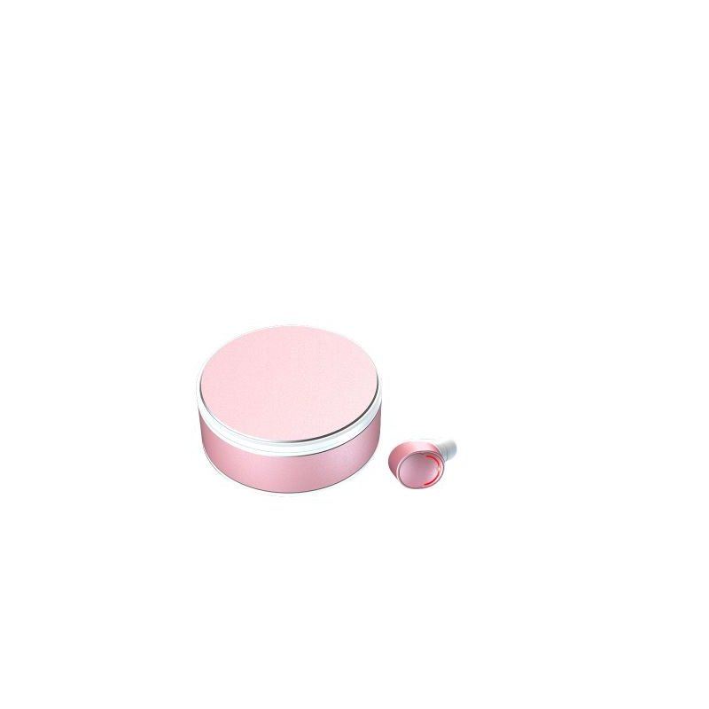 Tws-28 Bluetooth 5.0 In-ear Headset Hifi Binaural Call Waterproof Me8 Charging Rotatable Stereo Headset Single ear pink
