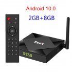 Tx6s Tv  Box H616 Quad-core Android 10.0 WiFi Allwinner Smart Tv  Box 2+8G_BU plug