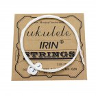 U105 Ukulele Strings Nylon Soprano Concert Tenor Ukelele Strings Musical Instrument Replacement Part