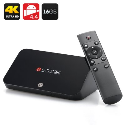 UBOX R89 Android 4.4 TV Box with 16GB Memory