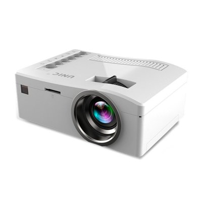 UC18 Mini HD Projector White US Plug