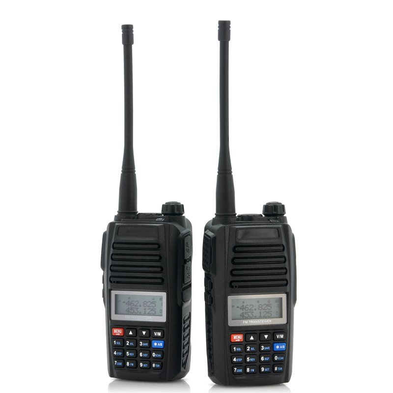 UHF Long Range Walkie Talkie Set