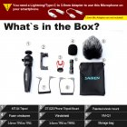 ULANZI Smartphone Video Kit Mobile Live Photography VLog Set black