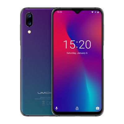 UMIDIGI One Max Phone - Aurora  Black (EU)