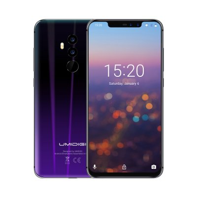 UMIDIGI Z2 4G Smartphone (Twilight-Black)