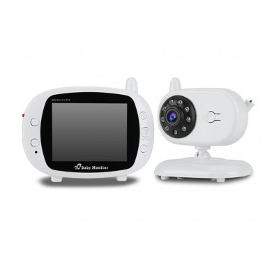 US LCD Screen Wireless Digital Baby Monitor