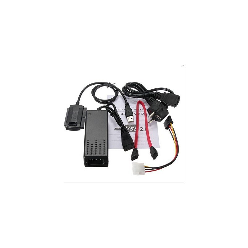USB 2.0 to SATA/PATA/IDE Adapter Converter Cable for Hard Drive Disk European regulations