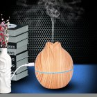 USB Air Humidifier Home Office Mute Mini Aromatherapy Mist Maker Light wood grain