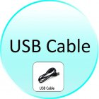 USB Cable for CVEM M154 Black Magic   WiFi Slider Phone with QWERTY Keyboard and Metal Cover