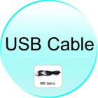 USB Cable for CVFD M127 SLIDE Genova Plus Quadband Dual SIM WiFi Cell Phone