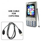 USB Cable for CVFV M06 Unlocked Touchscreen Dual SIM Dual Standby Cellphone