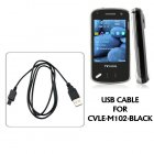 USB Cable for CVLE M102 Black Allure Cell Phone