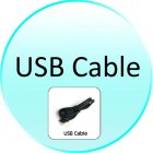 USB Cable for CVNI G170 GPS Cellphone Wrist Watch