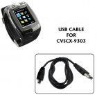 USB Cable for CVSCX 9303 Quad Band Cell Phone Watch  Touch Screen