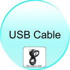 USB Cable for CVSL M85 Special Ops    Touchscreen CellPhone Watch
