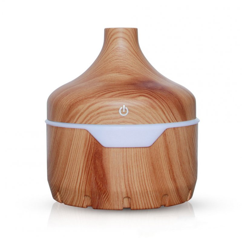 USB Charging Air Humidifier Large Capacity Wood Grain Home Air Purifier for Home Office Light wood grain