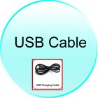 USB Charging Cable for CVUJ K130 2 4G Wireless Mini Keyboard with Touchpad