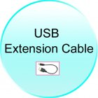 USB Extension Cable for CVGX C14 2GEN Stargate 7 Inch Touch Screen Car Media System